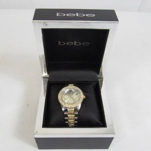 Bebe Silver/Gold Women's Watch In Box
